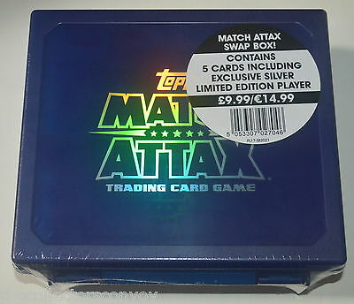 Topps MATCH ATTAX 16/17 = Swap Box 2016-2017 (+ Limited Edition Willian card)