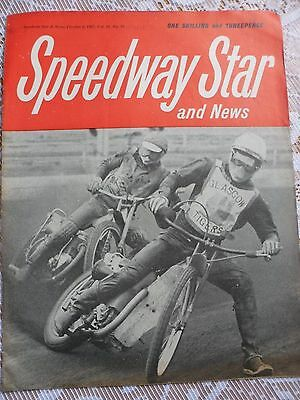 Speedway Star and News 6th October  1967