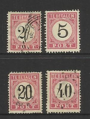 Netherlands Indies (Indonesia) ~ 1882+  Postage Due (Part Set)
