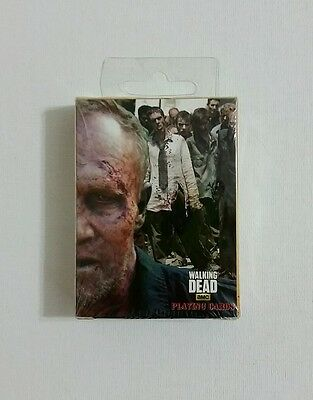 The Walking Dead Playing Cards NIB Sealed Merle Dixon Zombie Deck Michael Rooker