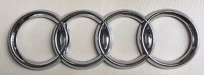 FOUR RINGS REAR BOOT TAILGATE TRUNK BADGE EMBLEM for AUDI A3 A4 A5 A6 TDI S4 A8