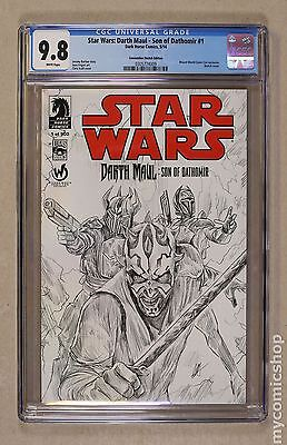 Star Wars Darth Maul Son of Dathomir (2014) #1WIZARDSKETCH CGC 9.8 (0305774009)