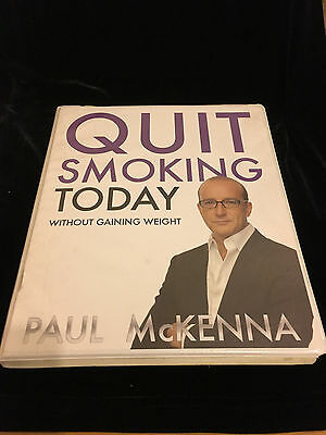 Quit Smoking Today, Without Gaining Weight-4 Cd's + Booklet, Paul Mckenna