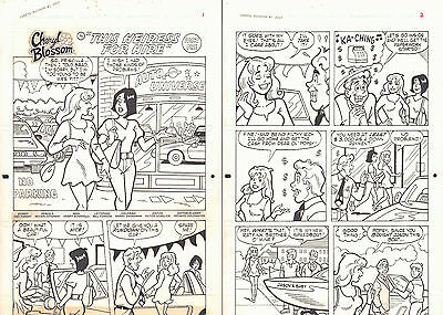 Cheryl Blossom #1 21 Page Story 'This Heiress for Hire' 1996 art DeCarlo/Parent