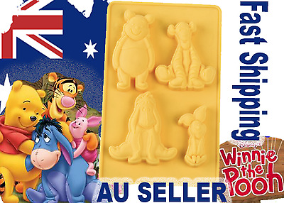 Winnie the Pooh & Friends Silicone Mould Cake tool clay resin