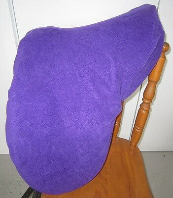 Horse Saddle cover in Purple with FREE EMBROIDERY Made in Australia  Protection