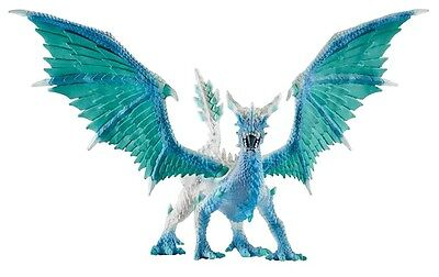 NEW SCHLEICH Bayala 70541 Blue Dragon Ice Hunter 35cm - Elves - posable wings