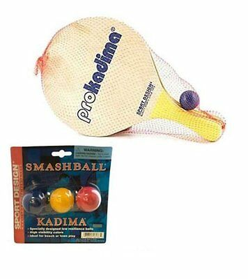 Paddle Ball Racquet Set - Making It A Great Game For The Beach Or Lawn Play