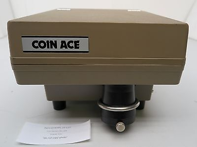JCM Coin Ace CS-20-14 117V 60Hz Coin Sorter Counter Table Top Free Shipping