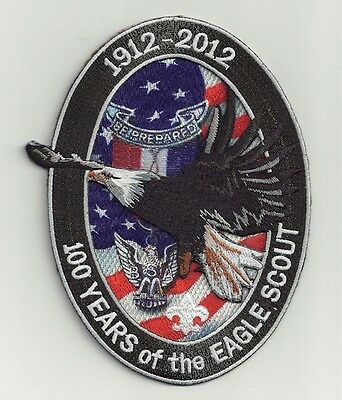 2012 Eagle Scout Centennial 100 Years Of The Eagle Scout Jacket Patch