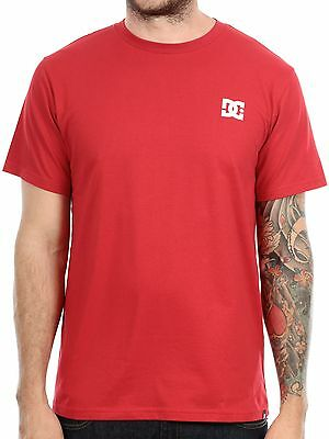 NEW DC Skateboard Clothing Mens Solo Star Short Sleeve Cotton T-Shirt Large Red