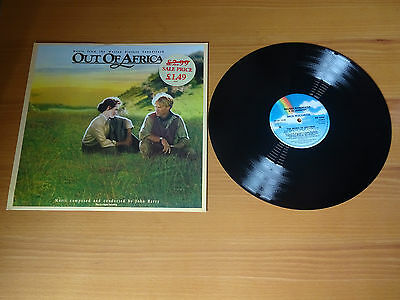 """Out Of Africa Film Ost - Near Mint Unmarked Uk 12"""" Vinyl Maxi Single - Mcat 1038"""