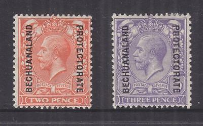 BECHUANALAND PROT., 1913 KGV Simple Cypher watermark 2d. & 3d, heavy hinged mint