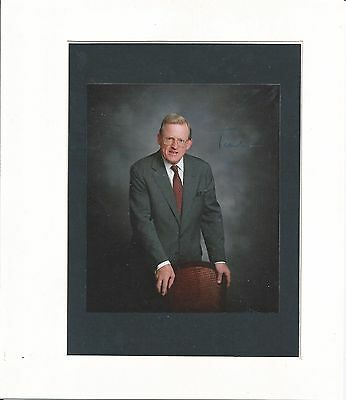 Tom King, Baron King Of Bridgwater  - Conservative Politician - Signed Photo Coa