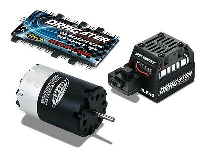Carson Brushless-Set DRAGSTER PRIME 6T 2-3S Lipo 100A - 500906160