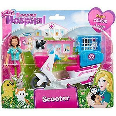 Animagic Animal Rescue Hospital - Scooter with Doll - Version 2 - 60168 - New