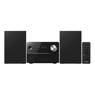 Pioneer XEM26 Micro Hi-Fi System with CD/FM Tuner and Bluetooth in Black