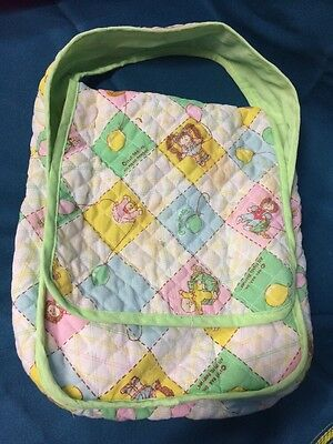 Cabbage Patch Doll- Changing Bag. Vintage Item Made In 1983
