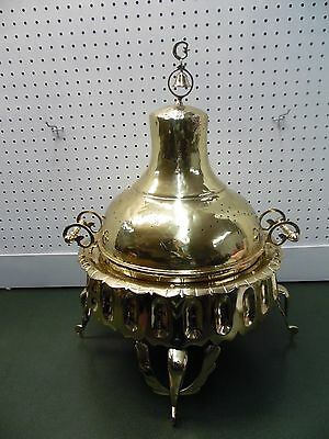 Turkish Brazier Brass w/ Copper inside