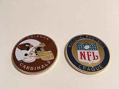 Nfl Arizona Cardinals Sport American Football Collectable Challenge Coin New