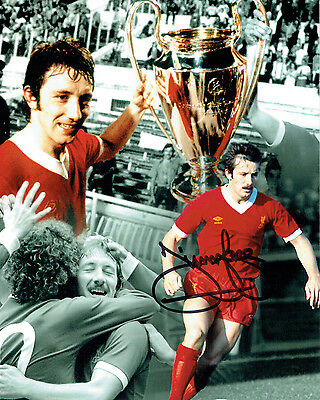 Jimmy Case SIGNED Liverpool Legend 10x8 Photo Montage AFTAL COA