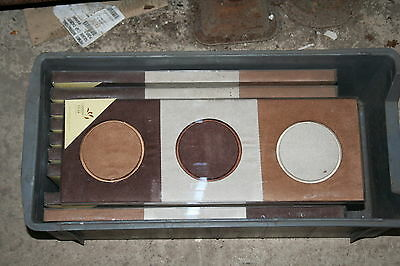 Wholesale job lot shop clearance Faux suede wall art from Landon Tyler x10