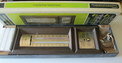 VTG Aspen Indoor-Outdoor Thermometer & Wind Chill Meter Springfield NOS in Box