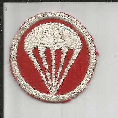 WW 2 US Army Paratroops Overseas Cap Patch Inv# K205