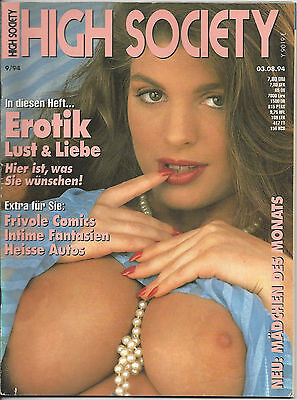 High Society - Nr.9/94 - Vintage Farbfoto-Magazin