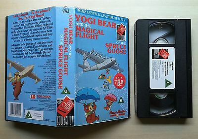 Yogi Bear And The Magical Flight Of The Spruce Goose - Hanna Barbera - Vhs Video