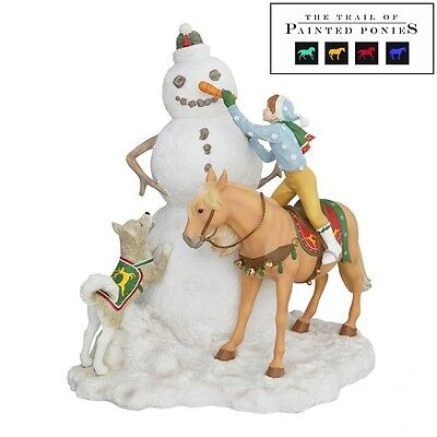 Trail of Painted Ponies Final Touch Musical Holiday Christmas Centerpiece New