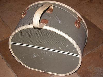 Vintage Round Vanity Case Vintage Wedding Weekend Camper