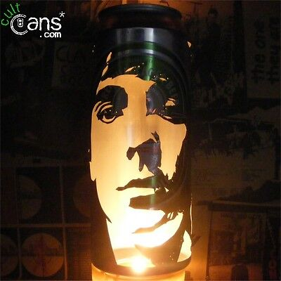 Keith Moon Beer Can Lantern! The Who Pop Art Candle Lamp, Mod