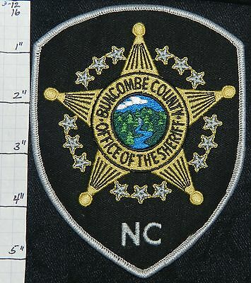 North Carolina, Buncombe County Sheriff Office Patch