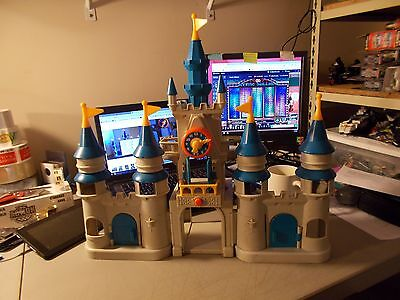 Vintage 1987 Li'l Playmates Disney Magic Kingdom Castle Playset (CASTLE ONLY)