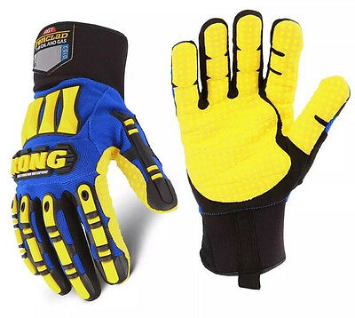 Ironclad Kong Waterproof Impact Protection Cold Winter Work Gloves Size Xl