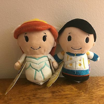 Hallmark Itty Bittys Disney Wedding Ariel & Eric Limited Edition Set of 2 NWT!
