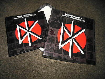 DEAD KENNEDYS Original Singles Collection EMPTY Box + Booklet ONLY NO VINYL