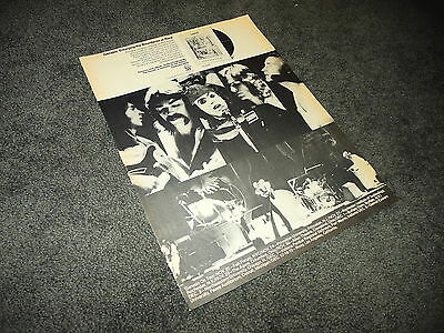 GENESIS 1973 Tour Selling England By The Pound 11x14 Promo BILLBOARD Ad Poster