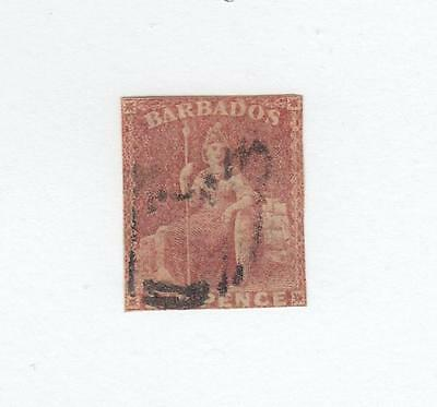 Barbados # 8 Light Used Cat Value $140 Very Nice