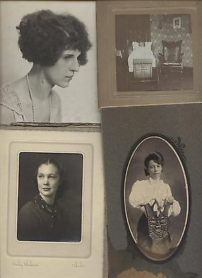 #108 Old Vintage Pictures Photos Album People Kids Family Scrapbook Collection