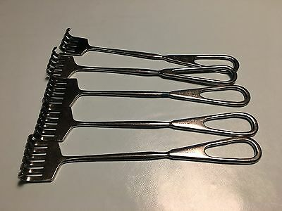 Haslam Retractors Surgical Tool STAINLESS STEEL Lots of 5