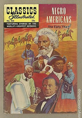 Classics Illustrated 169 Negro Americans the Early Years #2 VG- 3.5