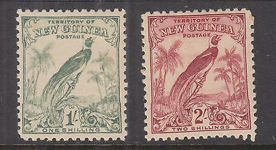 NEW GUINEA, 1932 Bird of Paradise without dates. 1s. & 2s., lhm.