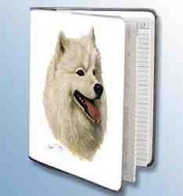 Retired SAMOYED Softcover Address Book art by Robert May