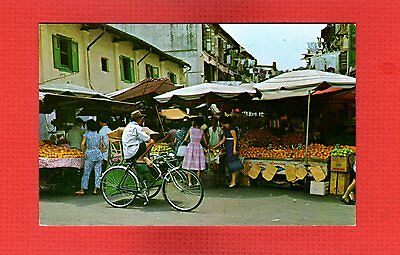 Fruit Stall in Chinatown, Singapore imported fruit market scene