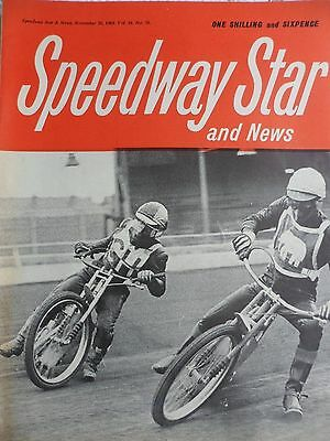Speedway Star and News 28th November 1969