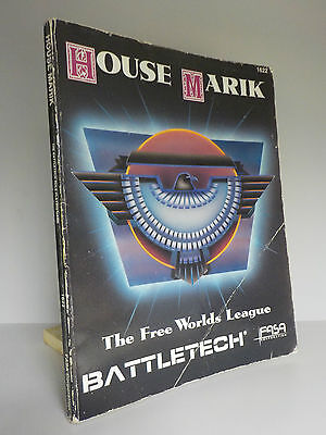 House Marik - Battletech (1622) - VERY RARE - FASA Corporation - 1988 (ID:626)