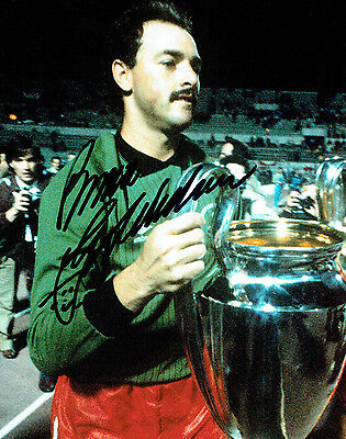 Bruce GROBBELAAR Liverpool Legend 10x8 Signed Photo A AFTAL COA Autograph