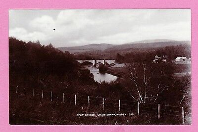 Unposted card. Spey Bridge, Grantown-on-Spey, Scotland
